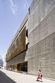Filmoteca de Catalunya (Film Theatre of Catalonia, 2011)   Mateo Arquitectura; Photo: Adrià Goula   Archinect