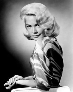 Sandra Dee - Bayonne, NJ. (1942-2005) American actress who began her career as a model. 1950's, 1960's. She was married for a short time to singer Bobby Darin.