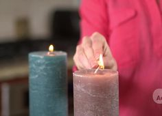 Freeze candles for 24 hrs before using them causes them to burn more slowly. How to Make Your Stuff Last Longer - DailyFinance Savings Experiment
