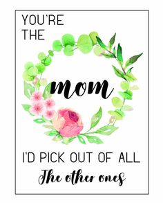 Free printable Mothers Day cards! These are so cute. Plus, what to write for Mothers Day greetings inside the card. #mothersday #mothersdaycard #mothersdaycards #mothersdaygreeting #diyformom #mothersdaydiy #mothersdayfromkids Free Mothers Day Cards, Mother Day Gifts, Happy Mothers, Easy Diy Gifts, Homemade Gifts, Fun Crafts, Crafts For Kids, Mothersday Cards, Homemade Playdough
