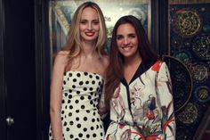 """Laure Heriard Dubreuil and Lauren Santo Domingo at the """"BeLive+The Webster Mochila Event"""" at The Ritz Carlton Miami Beach"""