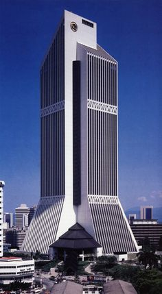 Hijjas Kasturi Associates, Malayan Bank, Kuala Lumpur, Malaysia, 1988