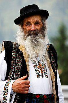 Faces of Romania - Popular poet Nicolae Dirtu
