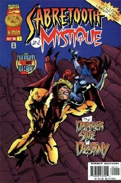Mystique and Sabretooth 1 2 3 4 complete set ---> shipping is $0.01!!!