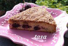 Αρωματική Κερασόπιτα με τραγανή κρούστα φουντουκιού Tiramisu, Ethnic Recipes, Desserts, Food, Pie, Tailgate Desserts, Deserts, Essen, Postres