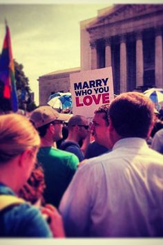 Marry who you love :)
