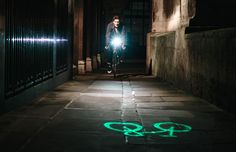 Blaze - laser bike light - for real, not just another unexisting concept!