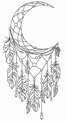 Dream catcher drawing Color Coloring pages to print Coloring pages Dream catcher tattoo Coloring books pin by benson burns on great items coloring bullet journals and bu. Printable Adult Coloring Pages, Coloring Pages To Print, Coloring Book Pages, Coloring Pages For Kids, Coloring Sheets, Mandala Coloring Pages, Free Coloring, Dream Catcher Coloring Pages, Dream Catcher Drawing