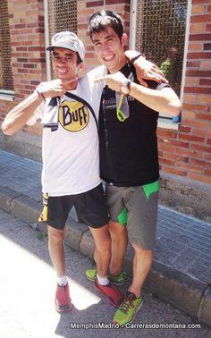 Zaid Ait Malek y Pablo Villa, grandes corredores de montaña.