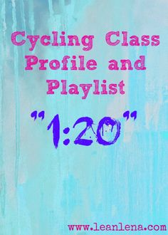 Come get your next class ideas from my Indoor Cycling Playlist and Class Profile post! This time it's an interval ride with hard work followed by recovery.