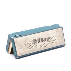 Vintage Papierowe Pudełko Pelikan - Zoebooks - Pozostałe