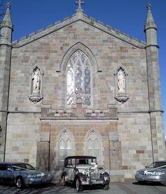 Regent Wedding Car www. Silver Wedding Limousines St John www.ie The Baptist Church,