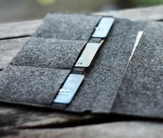 Card Holder for Midori Travelers Notebook // Credit Card Holder // Business Card Organizer // Leather Journal Accessories