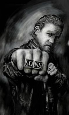 Check out this item in my Etsy shop https://www.etsy.com/listing/241632550/inspired-by-sons-of-anarchy-jax-teller