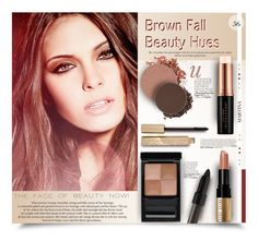"""Brown Fall Beauty Hues"" by thewondersoffashion ❤ liked on Polyvore featuring beauty, Anastasia Beverly Hills, Stila, Givenchy, Bobbi Brown Cosmetics, Shiseido, BeautyTrend, bobbiebrown, shiseido and anastasiabeverlyhills"