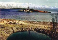 Tirpitz years after the war ended