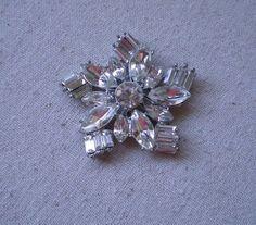 Creative Supplies  Vintage Rhinestone Floral by TheCreativeBeast, $5.00
