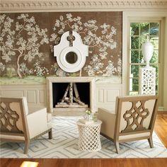 Global Views Furniture Williamsburg Dickinson Club Chair
