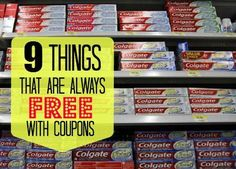 Things That Are Always Free With Coupons