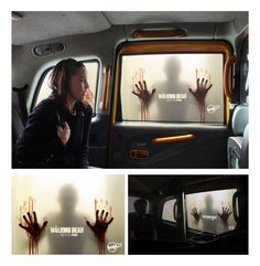 """Multiple award-winning 360 integrated campaign titled """"The end is only the beginning"""" for AMC's zombie-survival television series """"The Walking Dead"""" by South African advertising agency Ireland/Davenport, Cape Town #ad #advertising"""