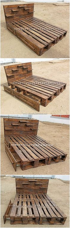 If you are living on my own and do prefer to add some cheaper fixtures in your house then selecting the alternative of the wooden pallet bed is best f … – image pin 2 Wooden Pallet Wall, Wood Pallet Tables, Wooden Sofa Set, Pallet Patio, Wooden Pallets, Diy Wood, Pallet Home Decor, Pallet Furniture, Furniture Ideas