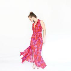 Self Drafted Maxi Shirtdress Amy Nicole Studio