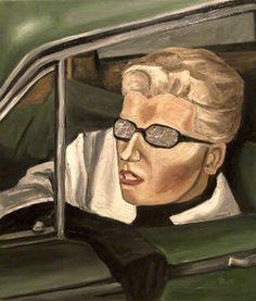 "Saatchi Art is pleased to offer the Art Print, ""Vertigo,"" by Teilhard Pramhas. Shepard Fairey Obey, Types Of Work, James Brown, Alfred Hitchcock, Vertigo, Feature Film, Contemporary Art, My Arts, Art Prints"