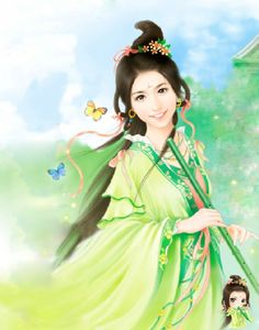 手绘美女 貌美如仙(九) - 赢他那儿的博客 - 我的搜狐