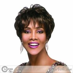 Vivica A Fox Hair Collection MorinaV Pure Stretch Cap Synthtic Fiber Handmade Wig 2 88 Ounce -- Details can be found by clicking on the image.(This is an Amazon affiliate link and I receive a commission for the sales)