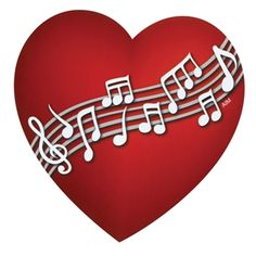 You've got music in your heart, so why not share it with the world? Wear your heart on your sleeve, and display your love of music on your car or refrigerator, with our flexible heart-shaped magnet. A great gift for music lovers. Sound Of Music, Kinds Of Music, Music Is Life, Music Heart, Heart Art, Music Symbols, Love Symbols, My Funny Valentine, Valentines Day