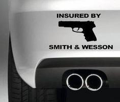 ASEGURADO POR SMITH & WESSON CAR PARACHOQUES VAN GUN DECAL PROBLEMAS DECAL GRçFICO South Coast Stickers http://www.amazon.es/dp/B00JNBDOIM/ref=cm_sw_r_pi_dp_YOoswb0RNFBXA