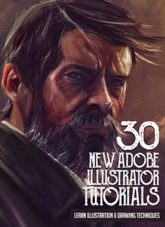 Illustrator Tutorials: 30 New Tutorials to Learn Illustration and Drawing Techniques #digitalillustration #illustratortutorials #tutorials #vectorgraphics #logotutorials