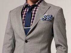 The Essential Light Gray Blazer by Indochino