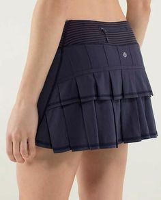 This is my absolute favorite skirt *ever*.  I have it in multiple colors, but black is the staple/go to.