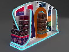 P&G Multi Category Display Design