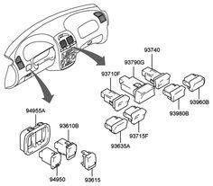 Hyundai Accent emissions: PCV valve, EVAP canister, & EVAP