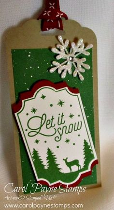 Merry Little Labels Christmas Gift Tags! by Carol Payne - Cards and Paper Crafts at Splitcoaststampers