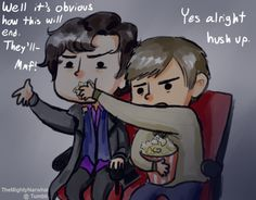 Why Sherlock and John don't go to the cinema.