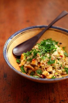 ちりめん山椒と根菜のチャーハン8