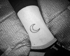 Ankel Moon Tattoo Design Ideas