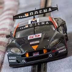 ManicSlots' slot cars and scenery: GALLERY: Black Arrow DBR9 'Team Modena'