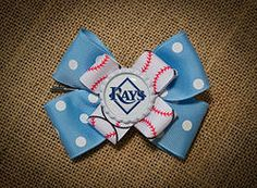 Tampa Bay Rays Hairbow