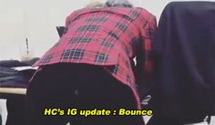 HimUp, Number one fan of Jongup's butt