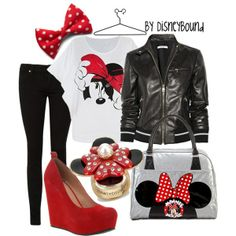 Minnie Mouse Inspired, created by lalakay on ...