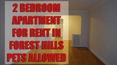 All new 2 Bedroom apartment with Balcony for rent in Rego Park ...