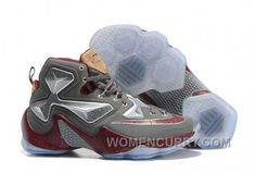 "7e3ac9d2823 Discover the Nike LeBron 13 ""Opening Night"" Fine Wine Wolf Grey Basketball  Shoes Cheap To Buy group at Yeezyboost. Shop Nike LeBron 13 ""Opening Night""  Fine ..."