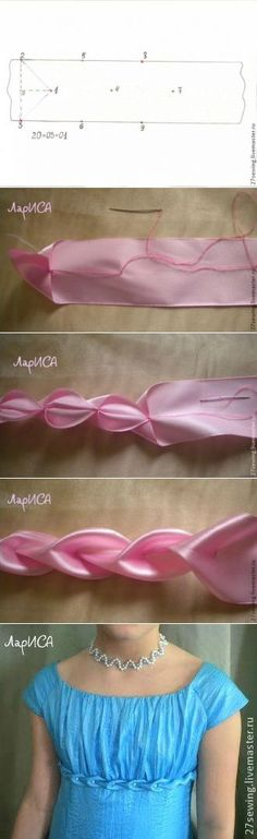 Miten sisustaa pullistaa mekko
