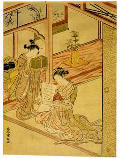 Major Genres - The Floating World of Ukiyo-e   Exhibitions - Library of Congress