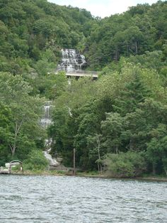Hector Falls from Seneca Lake