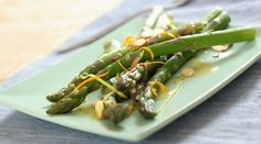 Asparagus with Toasted Almonds